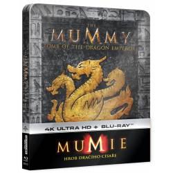 Blu-ray Mumie: Hrob dračího císaře, Mummy: Tomb of the Dragon Emperor, UHD + BD, Steelbook, CZ dabing