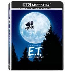 Blu-ray E.T. mimozemšťan, E.T. The Extra-Terrestrial, UHD + BD, CZ dabing