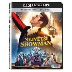 Blu-ray Největší showman, The Greatest Showman, UHD + BD, CZ dabing