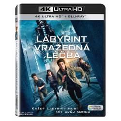Blu-ray Labyrint: Vražedná léčba, Maze Runner: The Death Cure, UHD + BD, CZ dabing