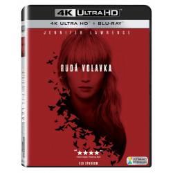 Blu-ray Rudá volavka, Red Sparrow, UHD + BD, CZ dabing