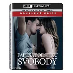 Blu-ray Padesát odstínů svobody, Fifty Shades Freed, UHD + BD, CZ dabing