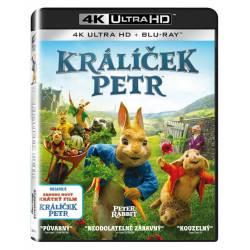Blu-ray Kálíček Petr, Peter Rabbit, UHD + BD, CZ dabing