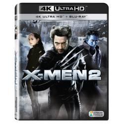 Blu-ray X-Men 2, UHD + BD, CZ dabing
