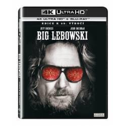 Blu-ray Big Lebowski, UHD + BD, CZ dabing
