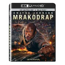 Blu-ray Mrakodrap, Scyscraper, UHD + BD, CZ dabing