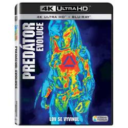 Blu-ray Predátor: Evoluce, UHD + BD, CZ dabing