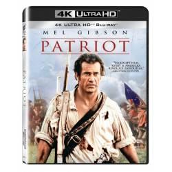 Blu-ray Patriot, UHD + BD, CZ dabing