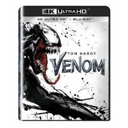 Blu-ray Venom, UHD + BD, CZ dabing