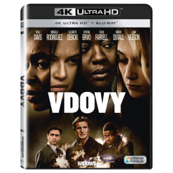 Blu-ray Vdovy, UHD + BD, CZ dabing