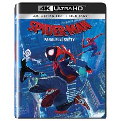 Blu-ray Spider Man: Paralelní světy, UHD + BD, CZ dabing