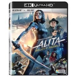 Blu-ray Alita: Bojový anděl, Alita: Battle Angel, UHD + BD, CZ dabing