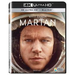 Blu-ray Marťan, UHD + BD, CZ dabing