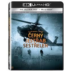 Blu-ray Černý jestřáb sestřelen, UHD + BD, CZ dabing