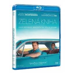 Blu-ray Zelená kniha, Green Book, CZ dabing