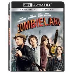 Blu-ray Zombieland, UHD + BD, CZ dabing
