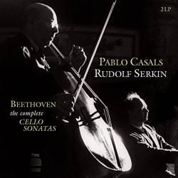 Vinyl L. van Beethoven - Complete Cello Sonatas (Pablo Casais, Rudolf Serkin), Vinyl Passion Classical, 2018, 2LP