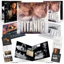 Vinyl James Horner - Titanic Soundtrack, Music on Vinyl, 2017, 2LP, 180g, 8 stranová brožúrka, kópia výtlaču The New York Times