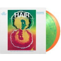 Vinyl Soundtrack - Hair (Original Broadway Cast), Music on Vinyl, 2021, 2LP, 180g, 8 stranová brožúrka, farebný vinyl