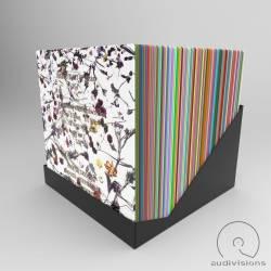 Box na LP Audivisions obdĺžnikový pre 90 platní