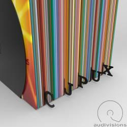 Horizontálny organizér na LP podľa abecedy Audivisions sada 26 písmen A - Z
