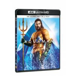 Blu-ray Aquaman, UHD + BD, CZ dabing