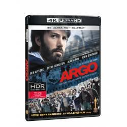 Blu-ray Argo, UHD + BD, CZ dabing