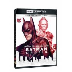 Blu-ray Batman a Robin, UHD + BD, CZ dabing