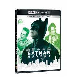 Blu-ray Batman navždy, UHD + BD, CZ dabing