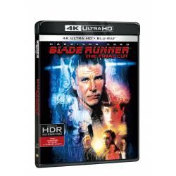 Blu-ray Blade Runner: The Final Cut, UHD + BD + 2DVD bonusy, CZ dabing