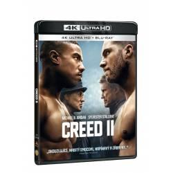 Blu-ray Creed II, UHD + BD, CZ dabing