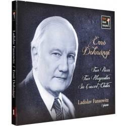 CD/FLAC 5 kanál Dohnányi Ernő 1 - Ladislav Franzowitz (piano)