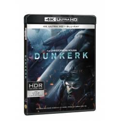 Blu-ray Dunkerk, UHD + BD + bonus disk, CZ dabing