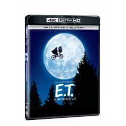 Blu-ray E.T. mimozemšťan, UHD + BD, CZ dabing