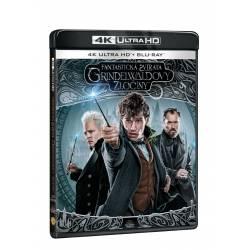 Blu-ray Fantastická zvířata: Grindelwaldovi zločiny, UHD + BD, CZ dabing