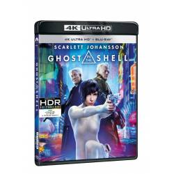 Blu-ray Ghost in the Shell, UHD + BD, CZ dabing
