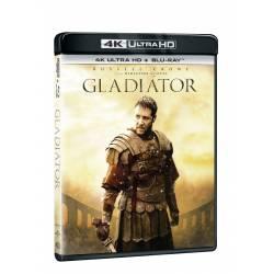 Blu-ray Gladiátor, UHD + BD, CZ dabing