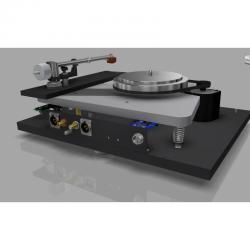Gramofón Thorens TD 1600 Orech lesklý