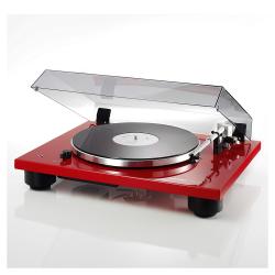 Gramofón Thorens TD 206 Červená lesklá