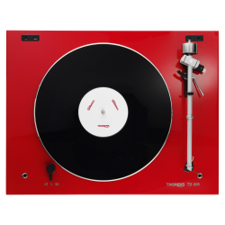 Gramofón Thorens TD 206 Biela lesklá