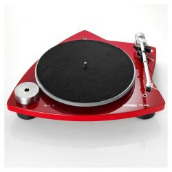 Gramofón Thorens TD 309 Červená lesklá