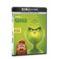 Blu-ray Grinch, UHD + BD, CZ dabing