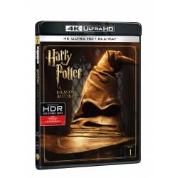 Blu-ray Harry Potter a kámen mudrců, UHD + BD, CZ dabing