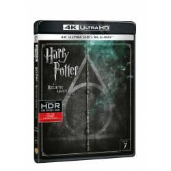 Blu-ray Harry Potter a relikvie smrti část 2, UHD + BD, CZ dabing