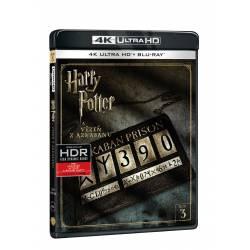 Blu-ray Harry Potter a vězeň z Azkabanu, UHD + BD, CZ dabing