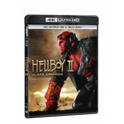 Blu-ray Hellboy 2: Zlatá armáda, UHD + BD, CZ dabing