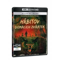 Blu-ray Hřbitov domácích zvířátek, UHD + BD, CZ dabing