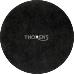 Podložka Thorens Leather Mat Čierna koža