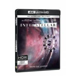Blu-ray Interstellar, UHD + BD + bonus disk, CZ dabing