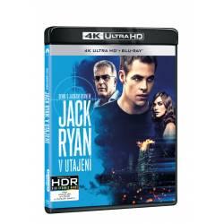 Blu-ray Jack Ryan: V utajení, UHD + BD, CZ dabing